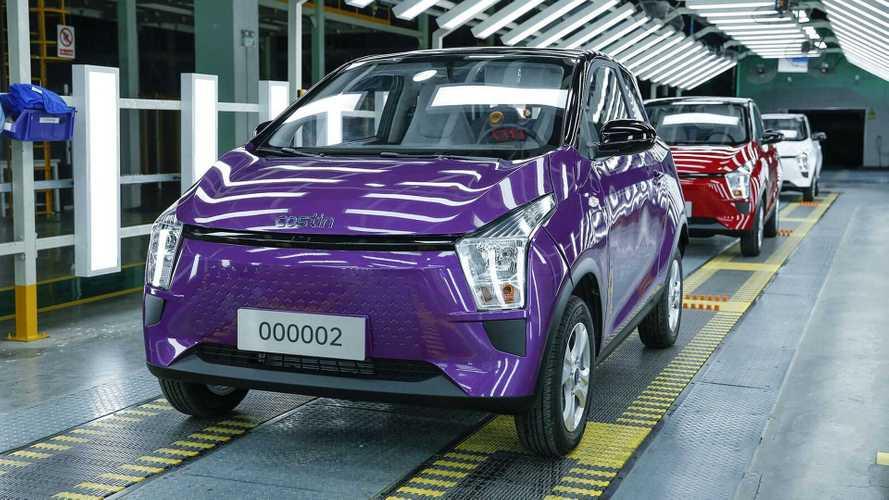 Sibuk! Pabrik Mobil Cina Ini Rilis Tiga City Car Listrik Barengan
