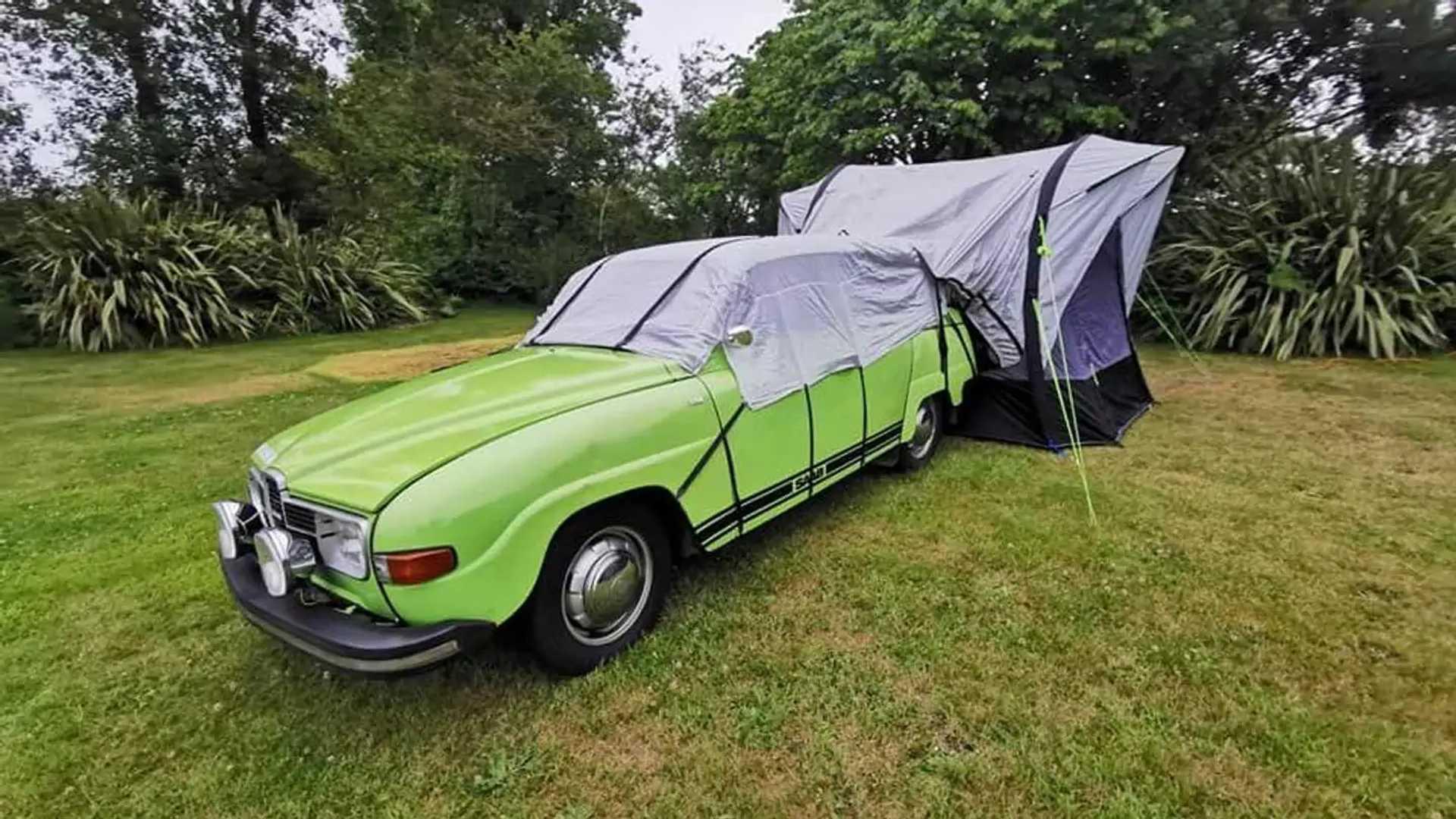 1975 Saab 95 V4 Micro Camper Complete