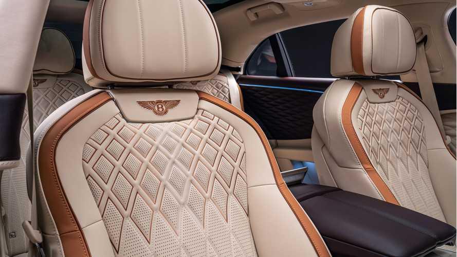 Questa Flying Spur è la Bentley con gli interni più sostenibili