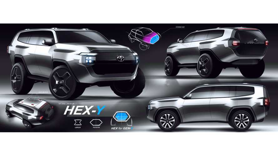 2022 Toyota Land Cruiser Early Design Sketches Released: Oh Baby, You're So Hex-Y