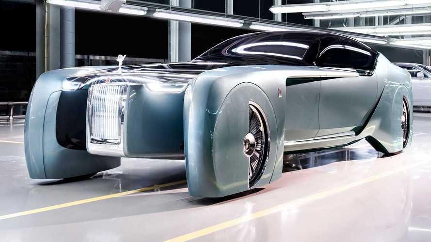 Rolls-Royce Teases Debut Of Its First EV Ahead Of September 29 Debut