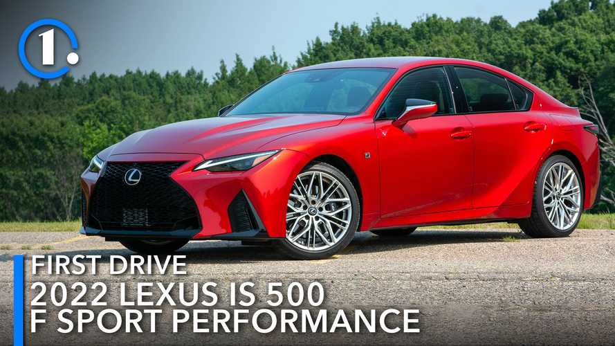 2022 Lexus IS 500 F Sport First Drive Review: F Around And Find Out