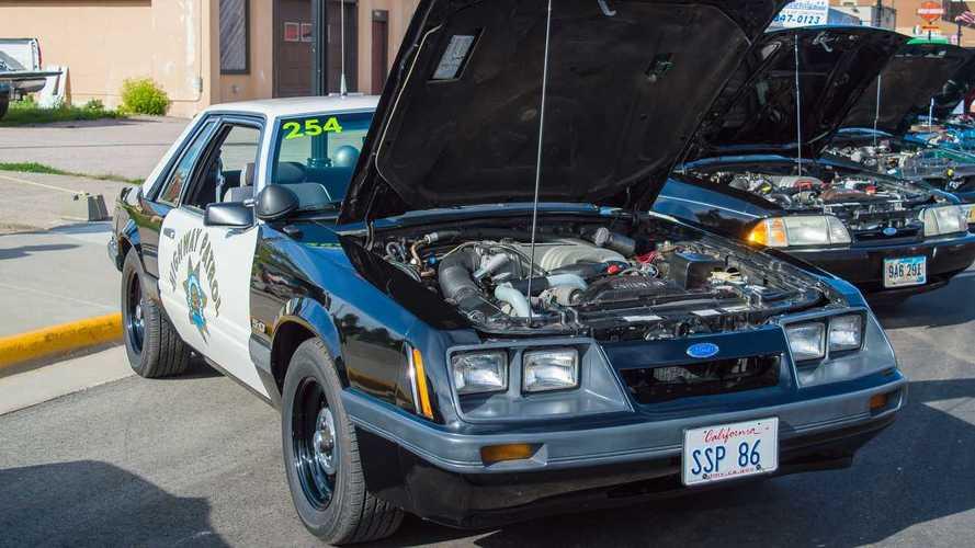 Ford Mustang SSP California Highway Patrol