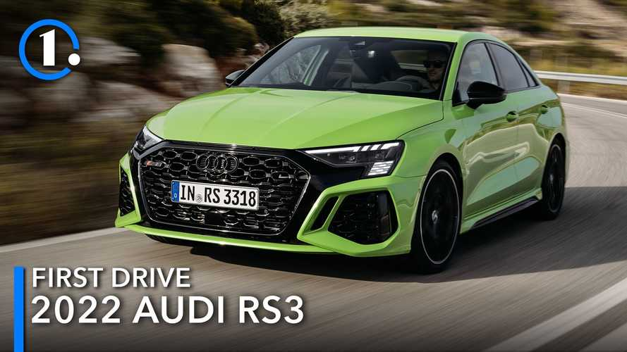 2022 Audi RS3 First Drive Review: Still Crazy After All These Years