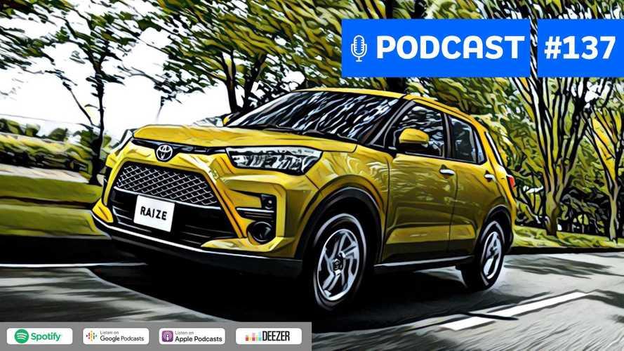 Motor1.com Podcast #137: Toyota trocará Yaris por SUV compacto?