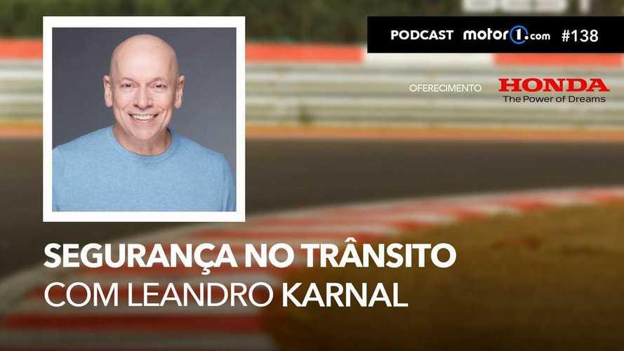 Motor1.com Podcast #138: Segurança no trânsito com Leandro Karnal