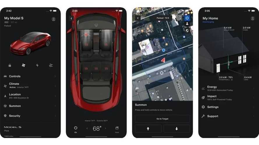 Tesla lancia la nuova versione della sua app