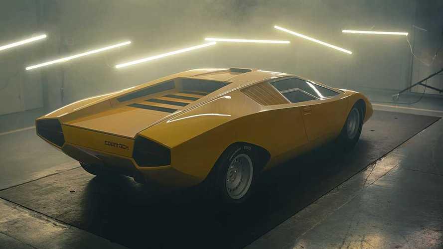 Karşınızda 1971 Lamborghini Countach LP 500 rekreasyonu!