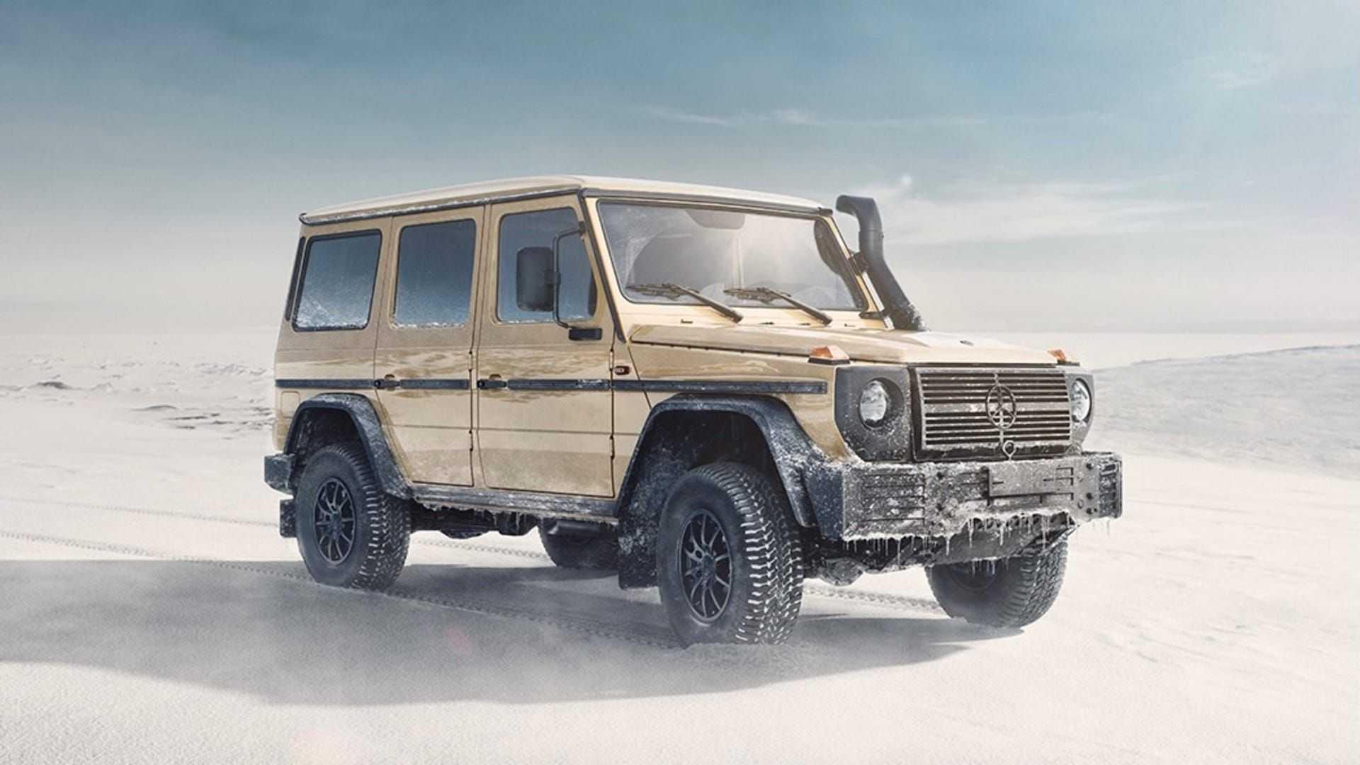 Militar Mercedes-Benz Clase G W464