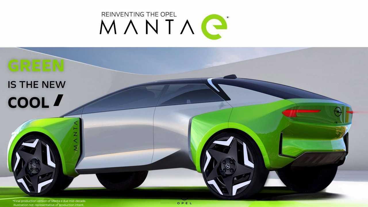 Opel Manta-e teaser