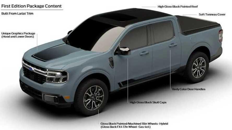 Ford Maverick First Edition tem detalhes revelados em catálogo