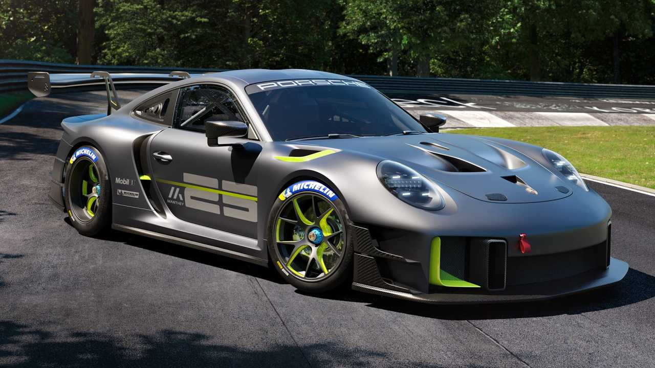 Porsche 911 GT2 RS Clubsport 25 announced to celebrate Manthey.