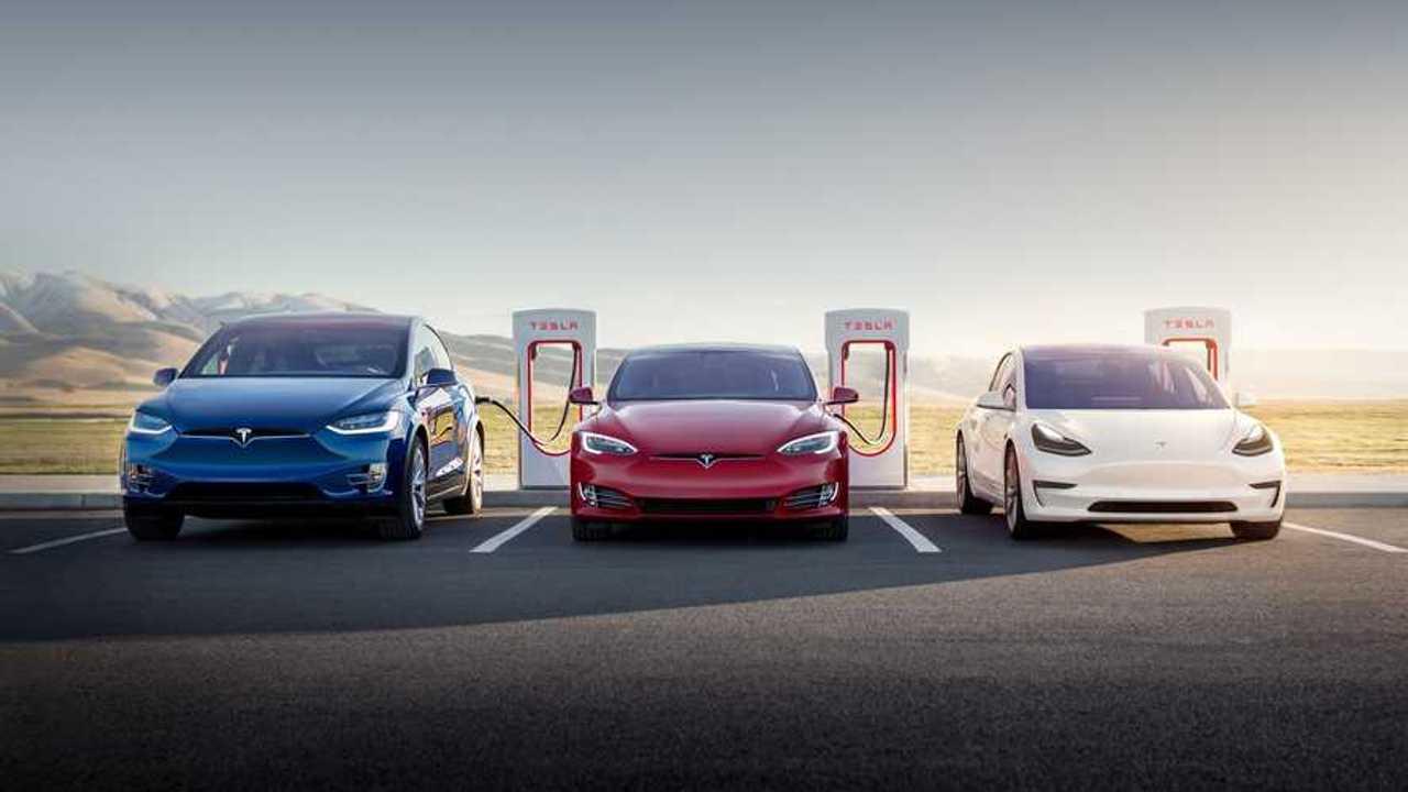 Tesla Supercharger 9