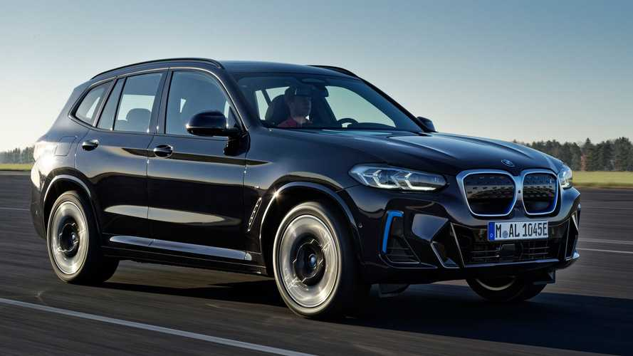 BMW iX3 (2022): Facelift des Elektro-SUVs steht auf der IAA