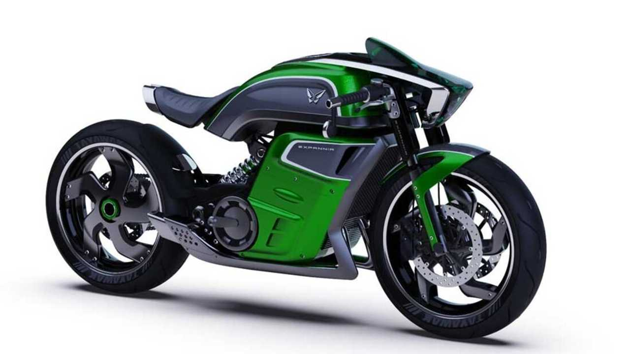 Expannia Electric Motorcycle Concept - Main