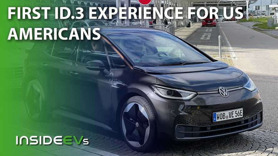 We Drive And Review Volkswagen ID.3 For The First Time