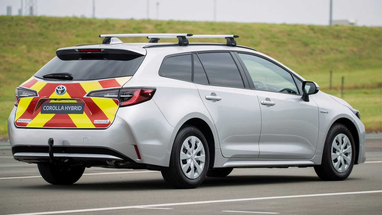 Toyota Corolla Commercial Hybrid Electric Van