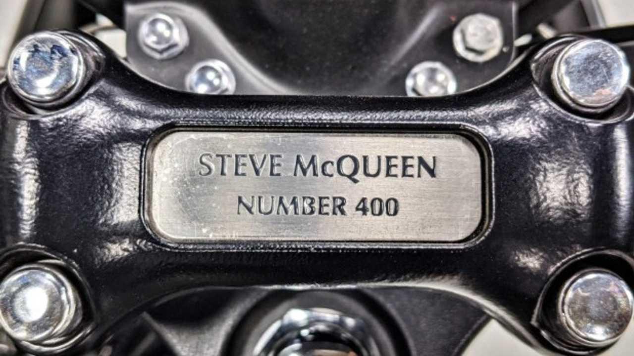 2013 Triumph Bonneville T100 Steve McQueen Edition