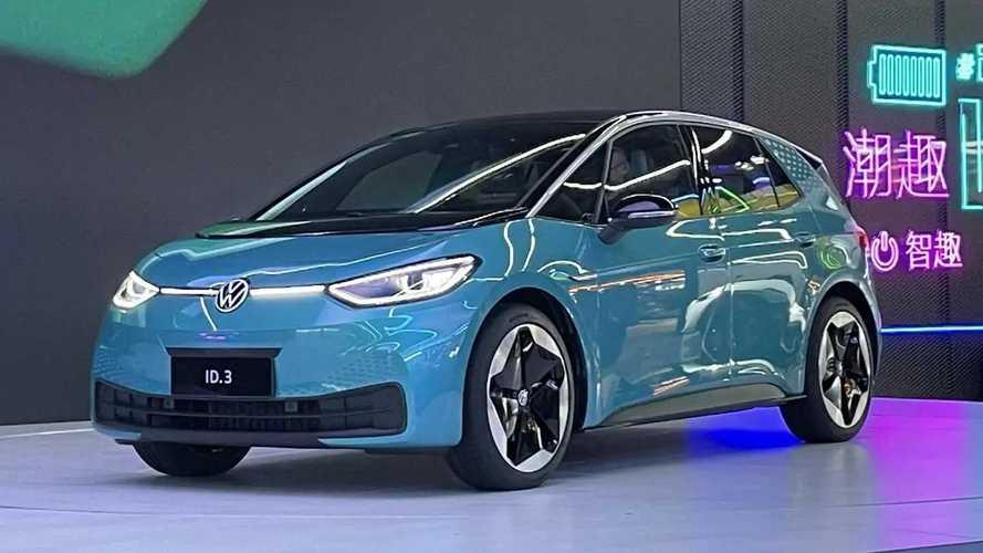 Volkswagen ID.3 elétrico é lançado oficialmente na China
