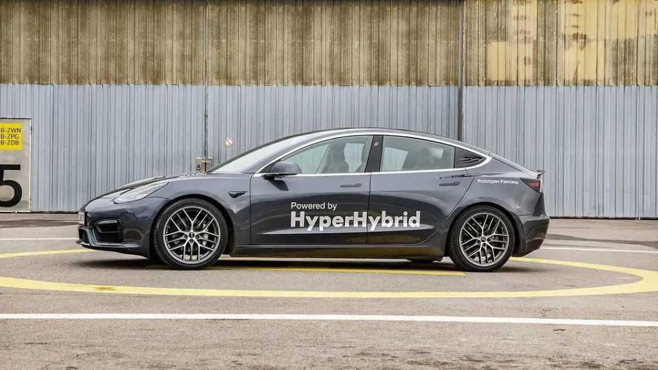 Tesla Model 3 HyperHybrid Mark II by Obrist