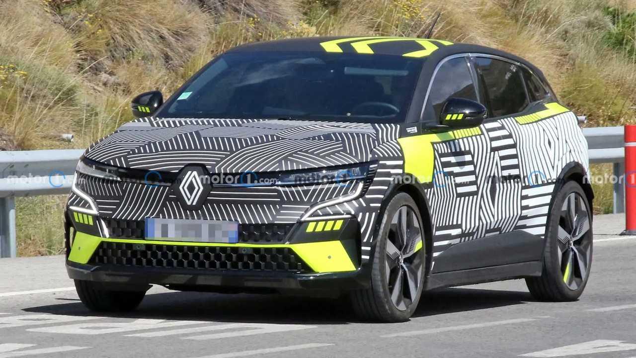 2022 Renault Megane kém fénykép