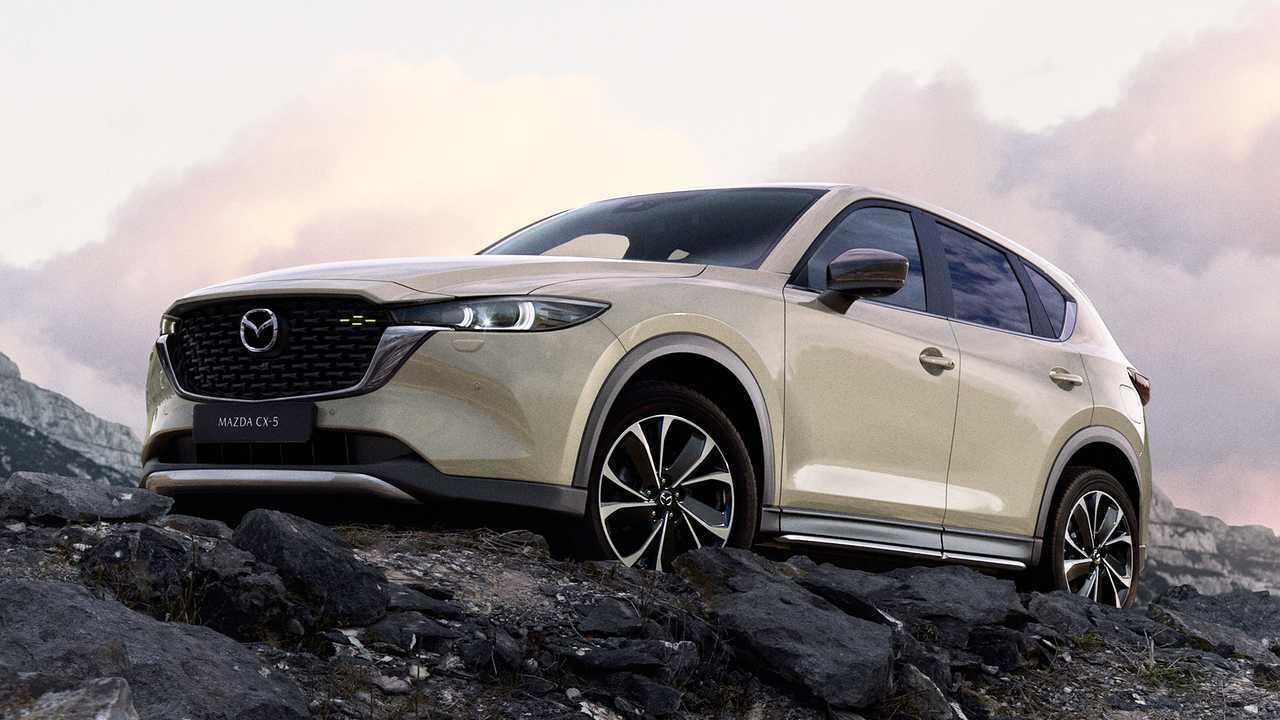 Mazda CX-5 Model Year 2022