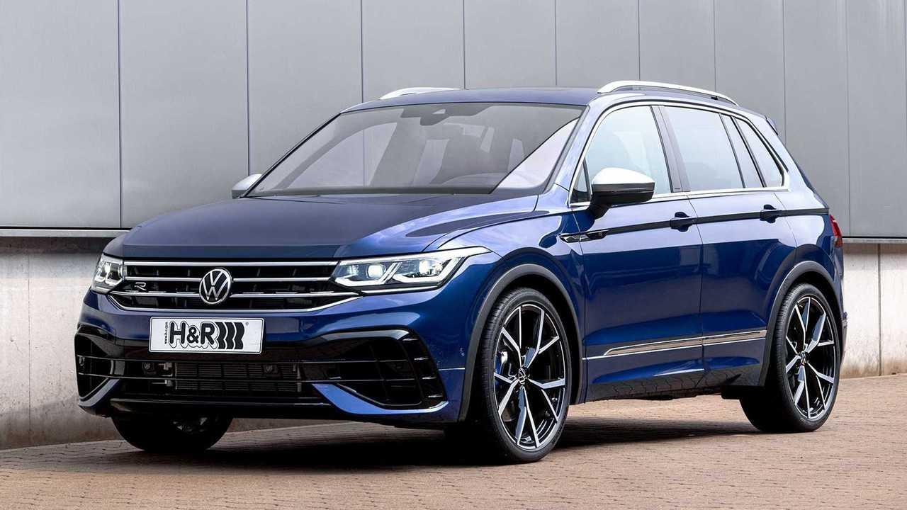 H&R-Sportfedern für den VW Tiguan R