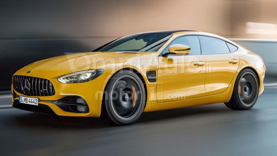 Mercedes-AMG GT Sedan, la coupé sotto mentite spoglie