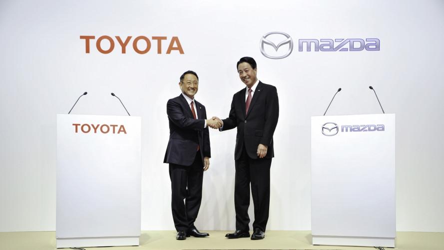 Mazda e Toyota, nasce una nuova alleanza