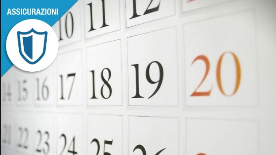 Rc auto, ecco le scadenze da calendario
