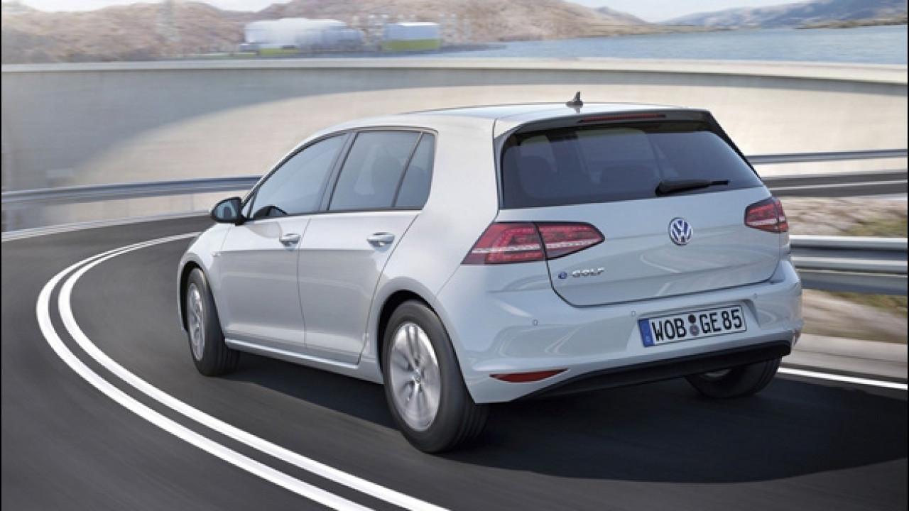 [Copertina] - Volkswagen e-Golf aumenterà l'autonomia con BMW nel mirino