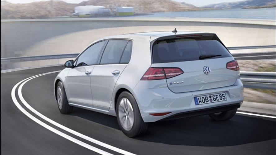 Volkswagen e-Golf aumenterà l'autonomia con BMW nel mirino