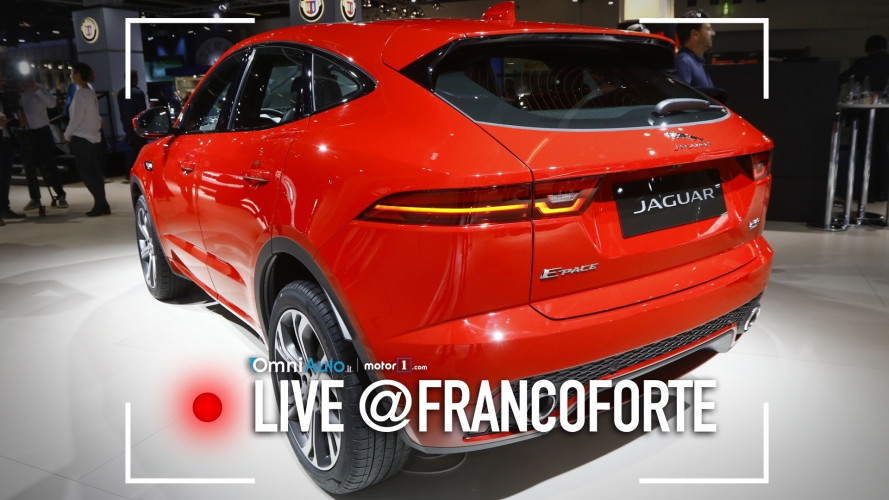 Jaguar E-Pace, il SUV compatto si fa sportivo [VIDEO]