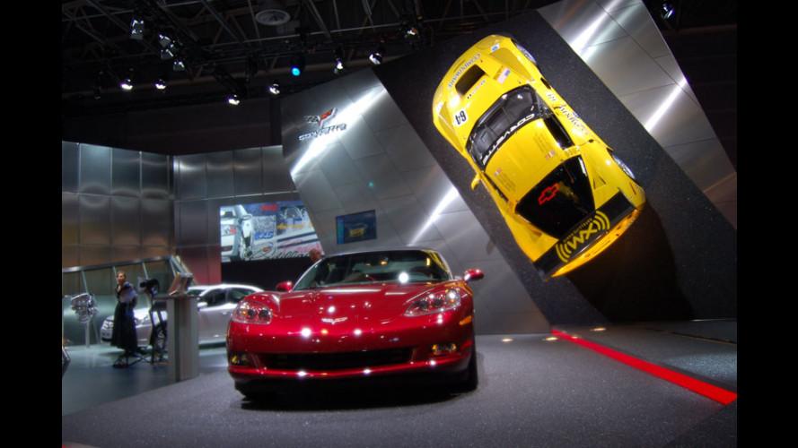 Corvette al Salone di Parigi 2006