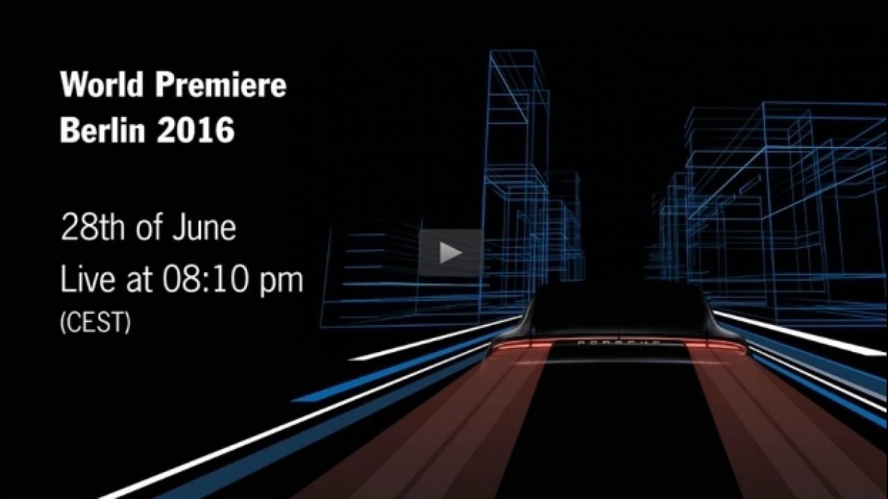 [Copertina] - Nuova Porsche Panamera, in diretta streaming [VIDEO]