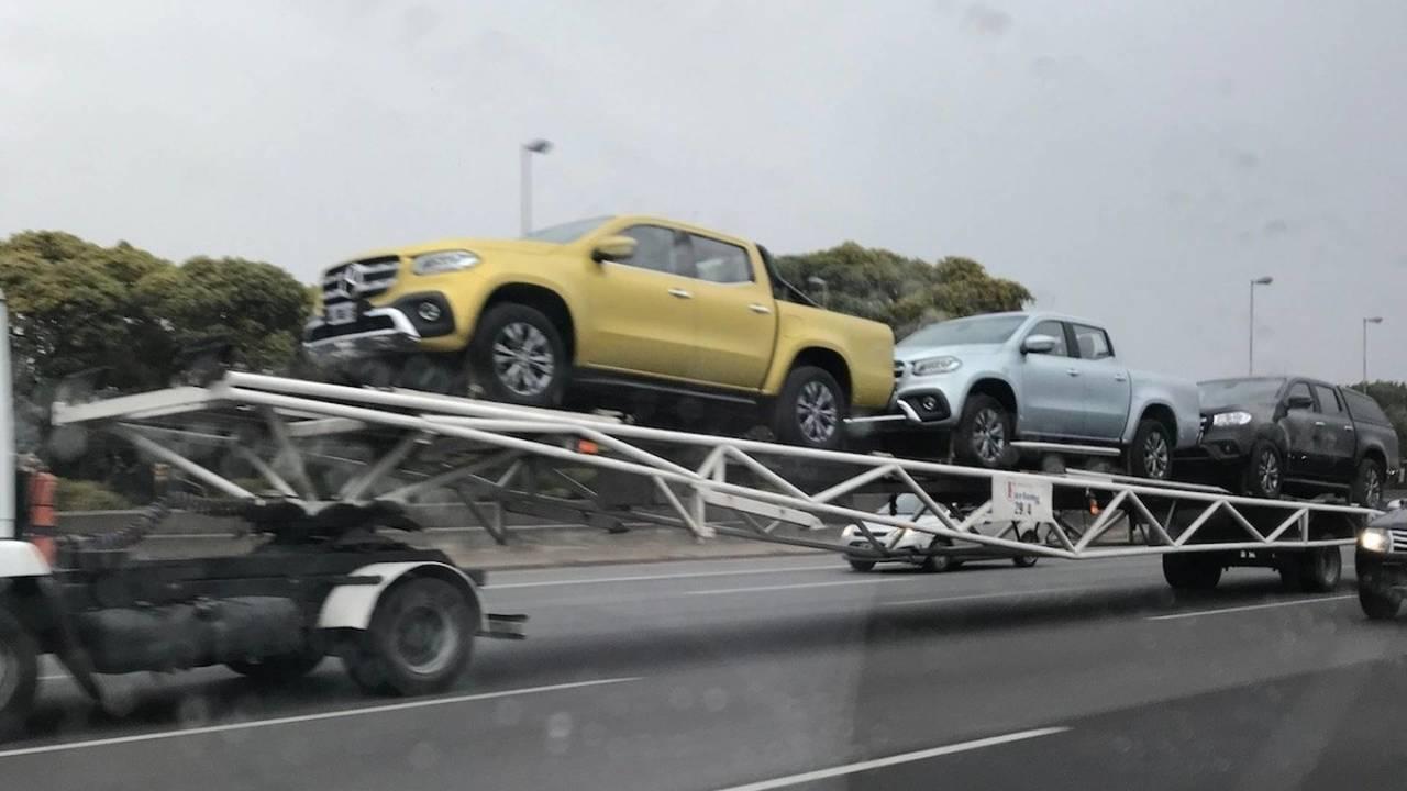 Mercedes Classe X - Primeiras unidades na Argentina