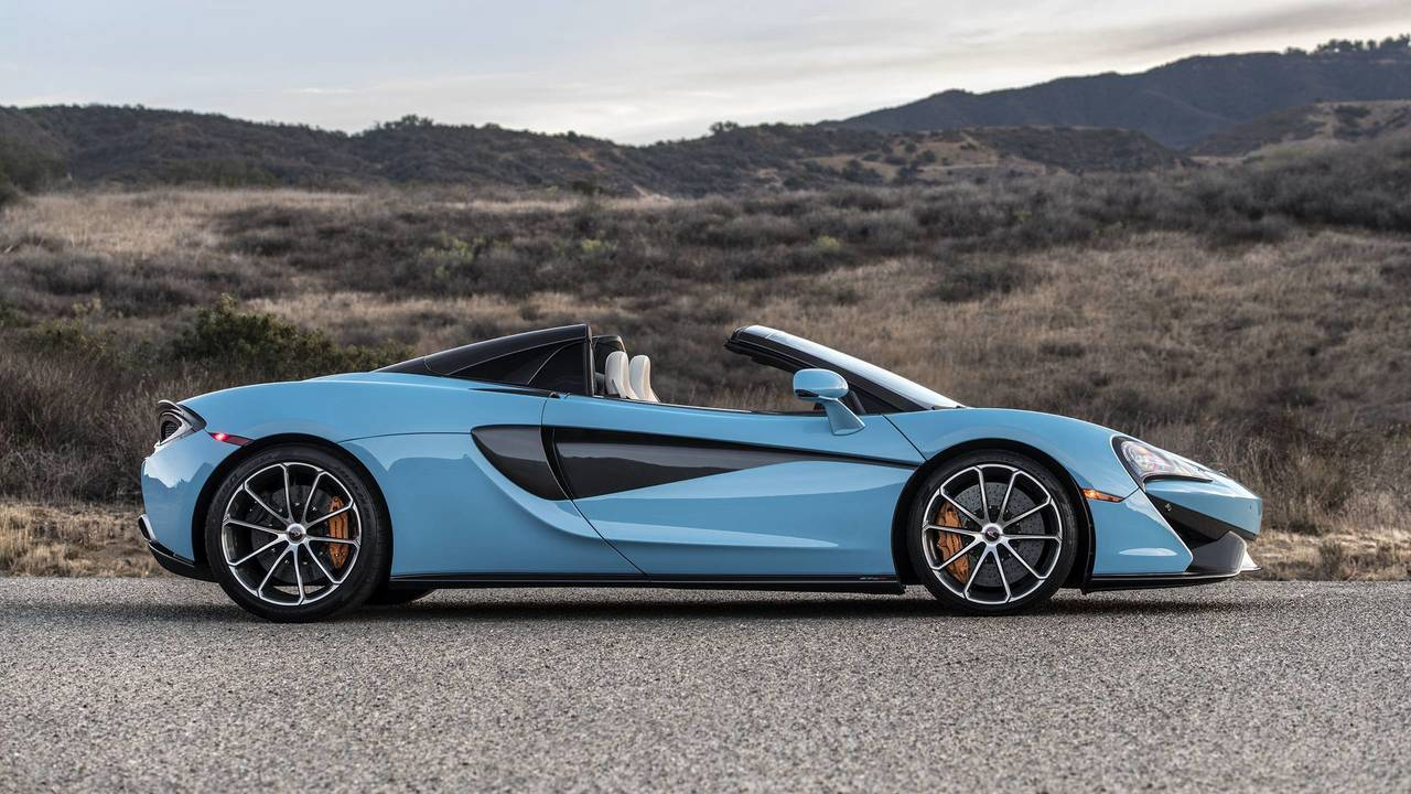 2018 mclaren 570s spider review: go on, take your top off