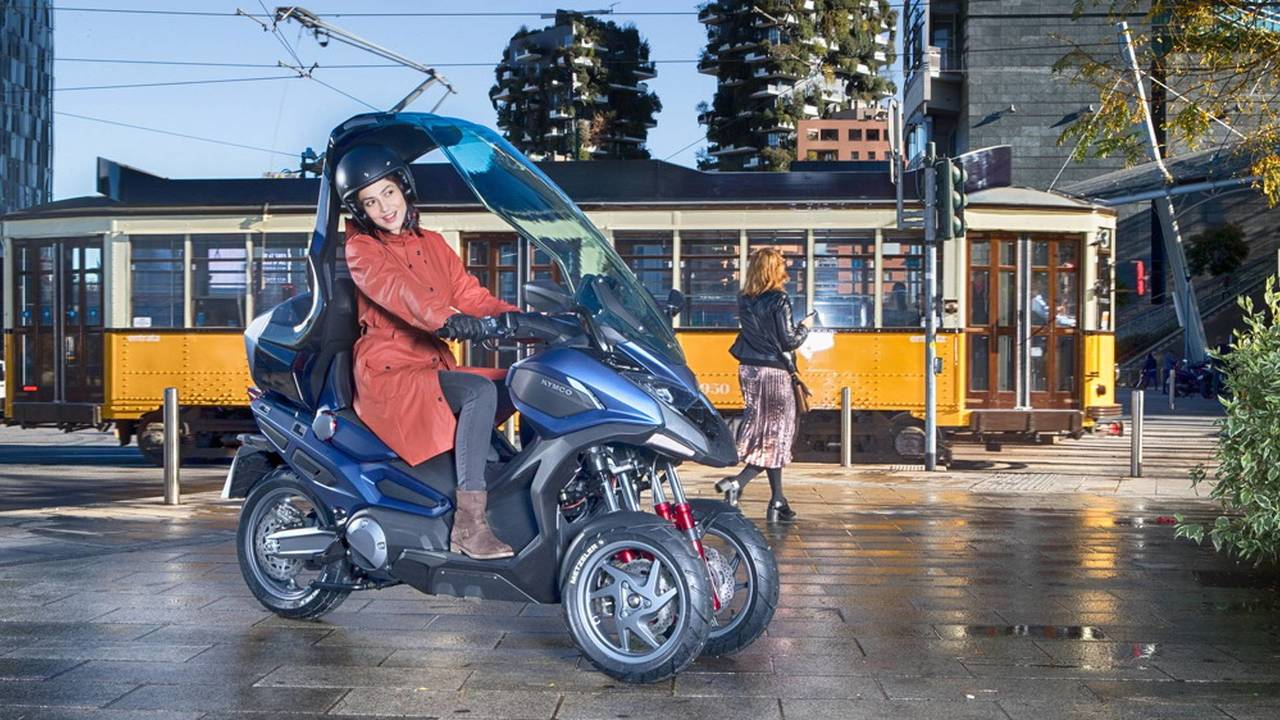 KYMCO concep scooter CV3