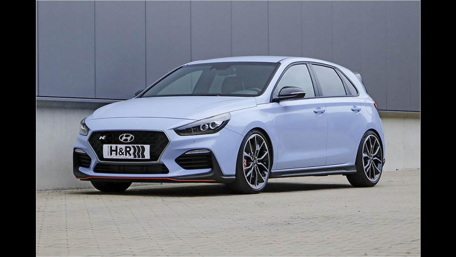 H&R-Sportfedern für den Hyundai i30 N