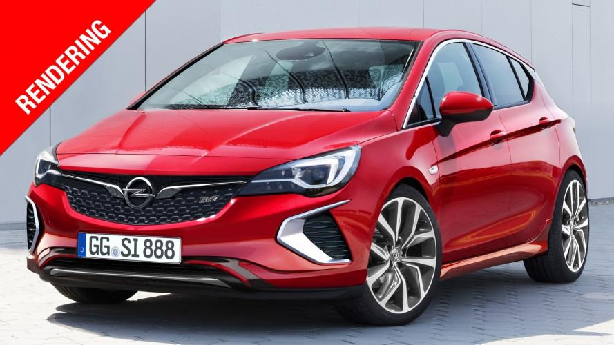 Így mutathat majd a 2021-ben érkező új Opel Astra?
