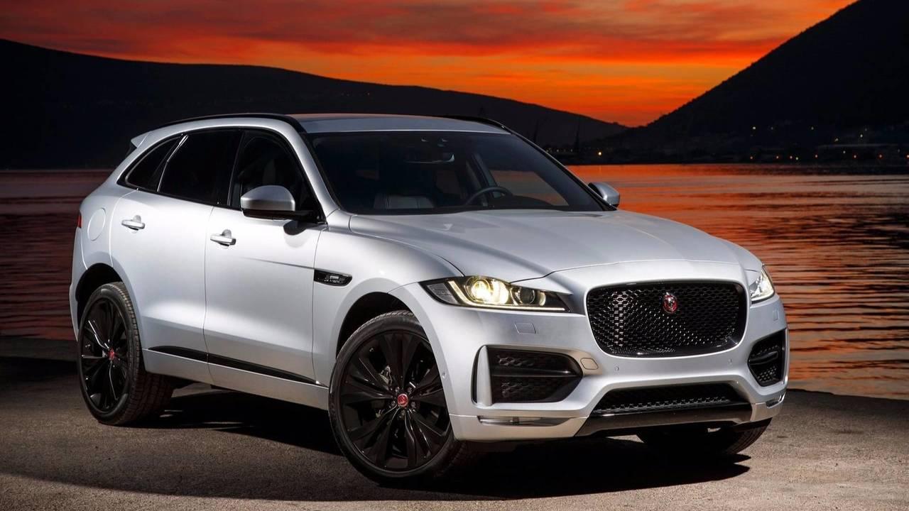 Voiture de l'année 2016 - Jaguar F-Pace