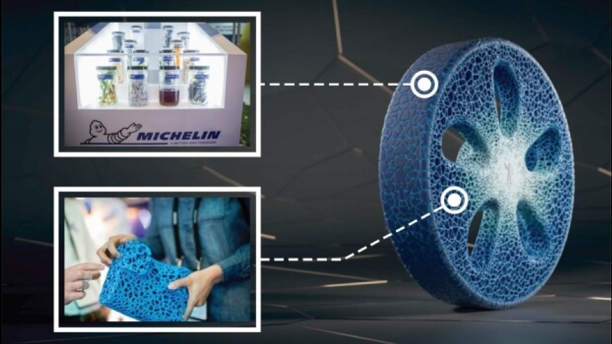 Da Michelin la gomma senza aria e senza cerchio