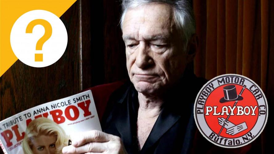 Playboy, per il nome della rivista Hugh Hefner si ispirò alle auto