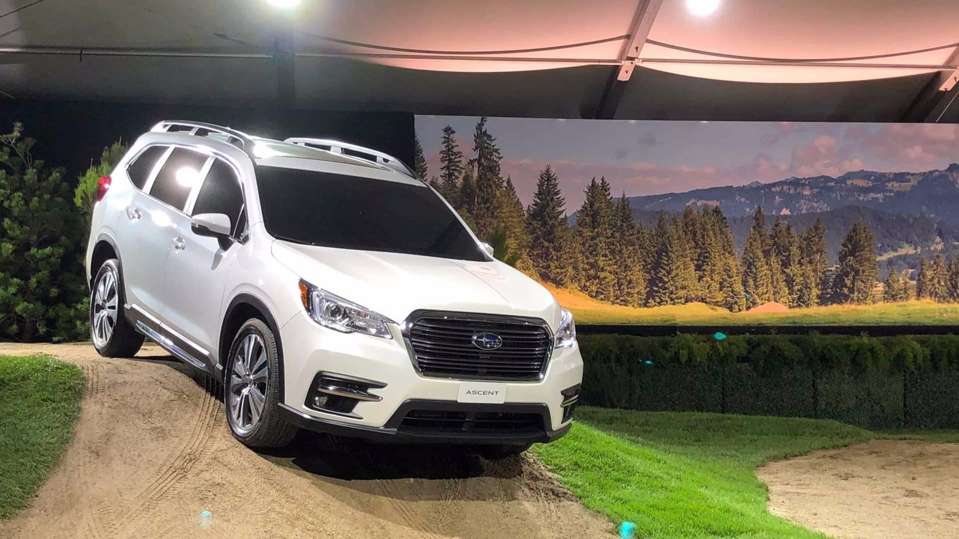 2019 Subaru Ascent Arrives With New Turbo Engine Seating For 8 Outback Intercooler Diagram