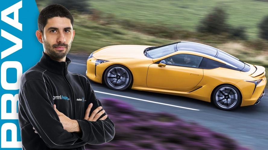 Lexus LC Hybrid, la prova della GT alternativa