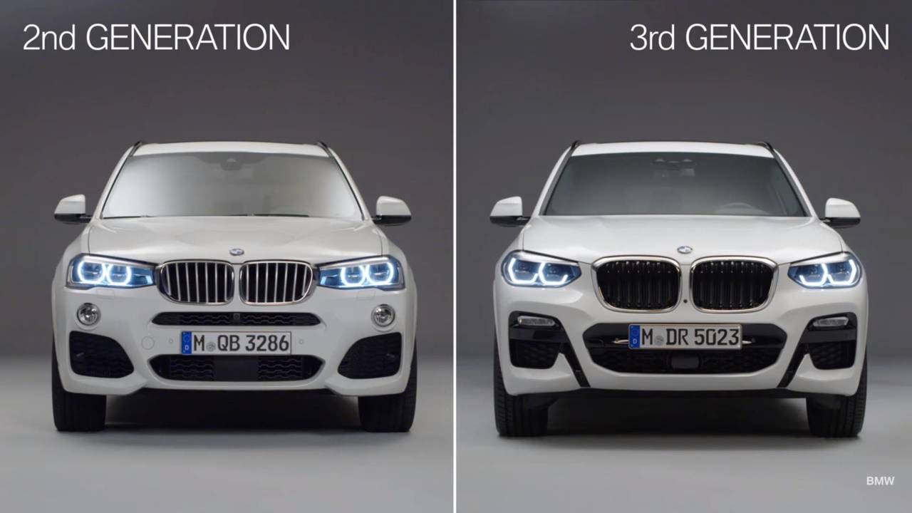 BMW X3 comparison