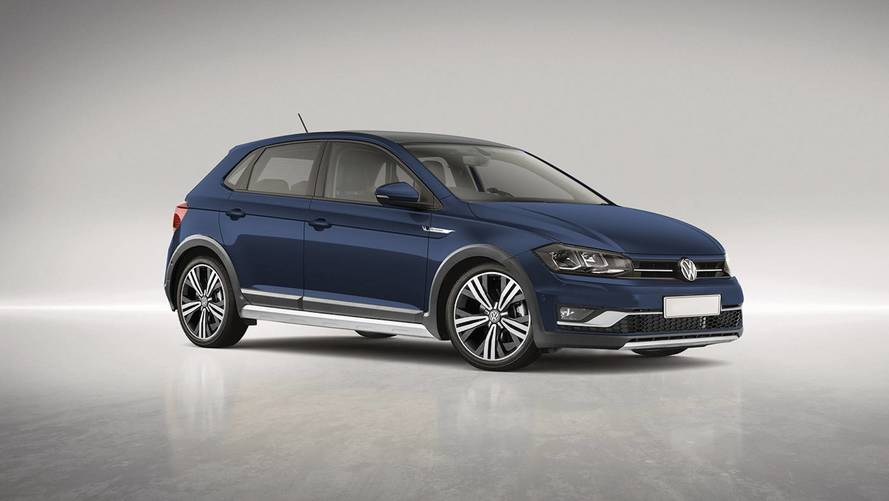 VW Polo Alltrack Rendered As Ford Fiesta Active Rival