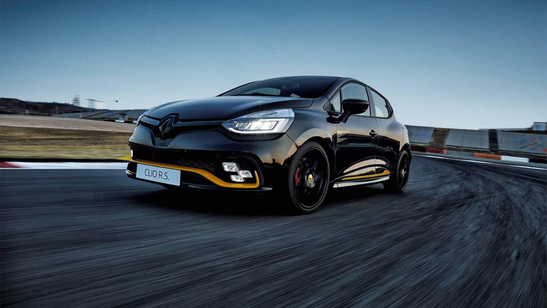 Renault Clio R S 18 E Hot Hatch De 220 Cv Inspirado Na F1