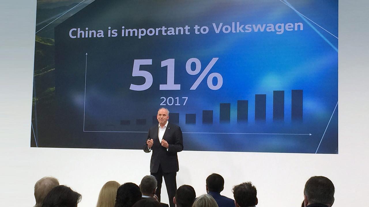 Volkswagen ist in China der Marktführer