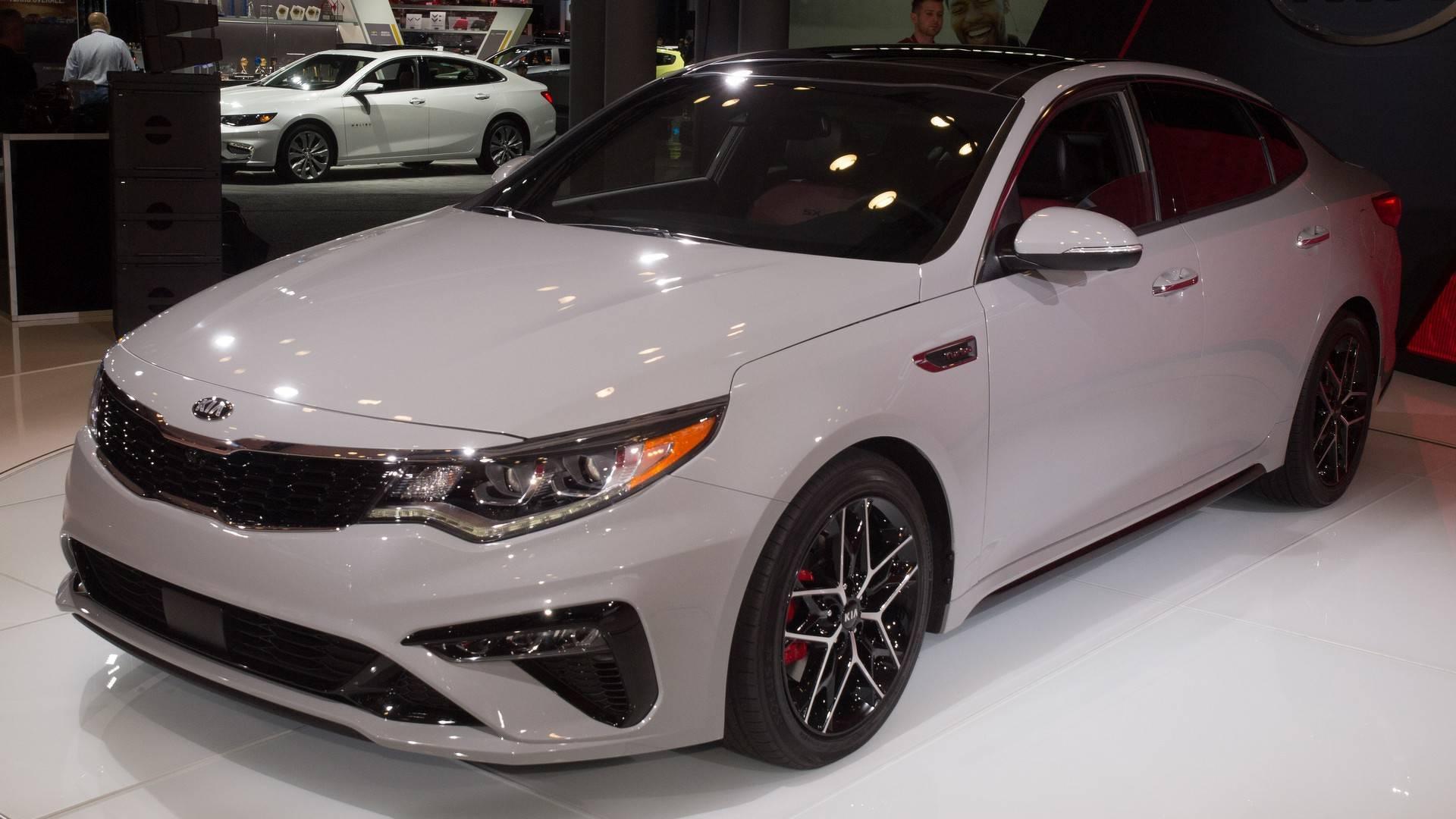 New Kia Optima >> 2019 Kia Optima Gets Very Minor Trim Refresh Tech Update